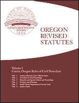 2017 ORS Volume 7, chapters 261-304, Public Facilities and Finance